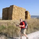 Maurice en route vers la Montagne du Pardon