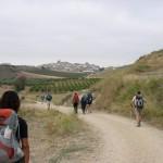 En approche de Cirauqui