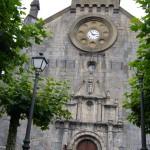 Petite pause aux abords de l'église de Burghete