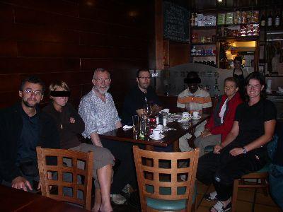 Avec les membres d'Oikoten